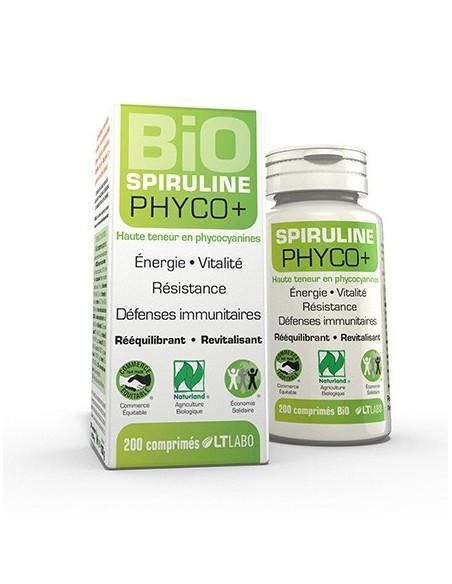 Spiruline Bio Phyco+ 500 comprimés