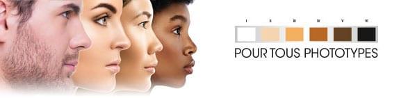 Fantastick est adapté pour tout type et couleur de peau
