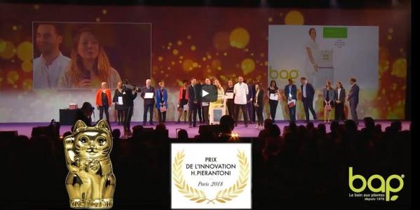 Prix de l'Innovation H.Pierantoni est décerné au système dermatologique PerfectSkin High-Tech Pro à Paris!